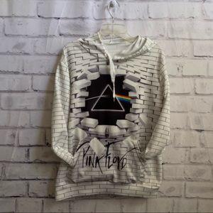 Pink Floyd polyester hoodie